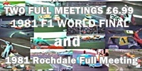 Brian Watson's video of the 1981 F1 World Final  Len Wolfenden 190 win at Bradford Odsal