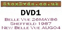 StoxDvds Brisca F1 DVD 1 Classic Stockcar action from Belle Vue 1986 and Sheffield 86