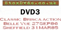 StoxDvds Brisca F1 DVD 3 from Belle vue and Sheffield 1986